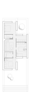 plan etage les villas patios