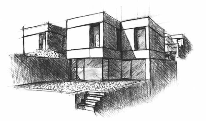 Les villas patio Corminboeuf Sketch